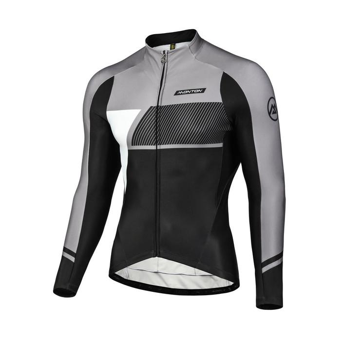 Men's 2018 Urban+ Simpo Thermal Jersey - black/grey