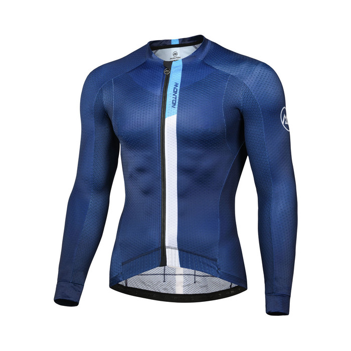 Men's 2018 Pro Fiwin l/s Jersey - blue
