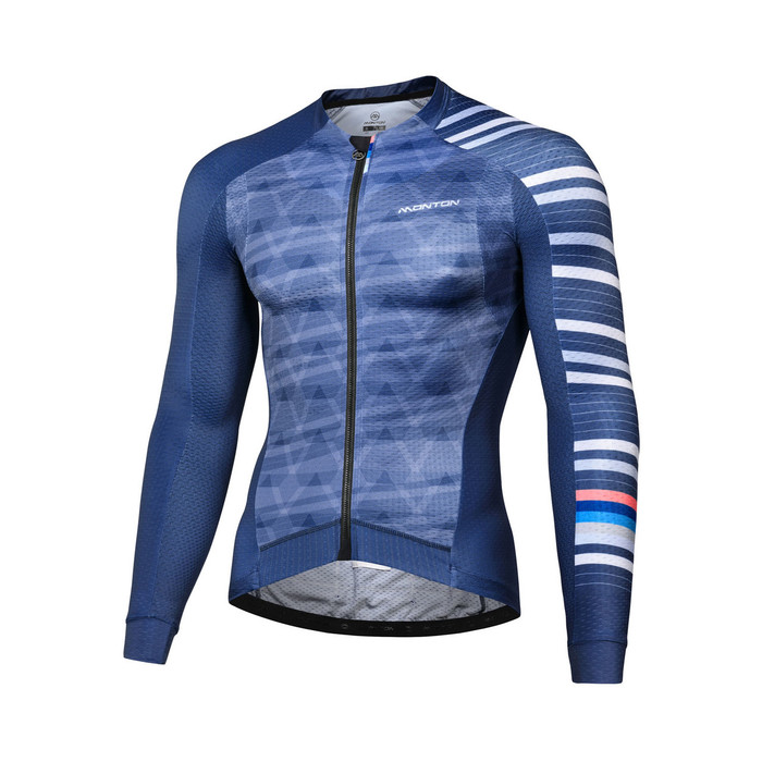 Men's 2018 Pro Aran l/s Jersey - blue