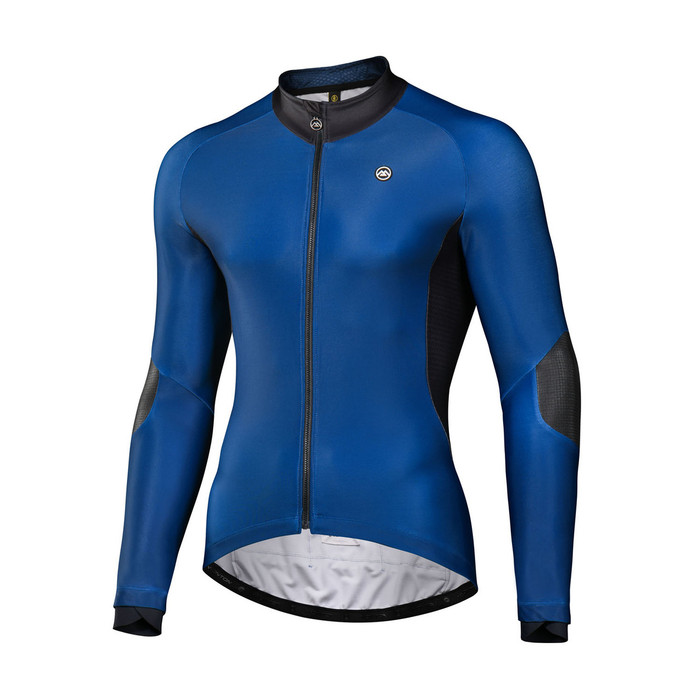 Men's 2018 Pro Cyclance Thermal Jersey - deep blue