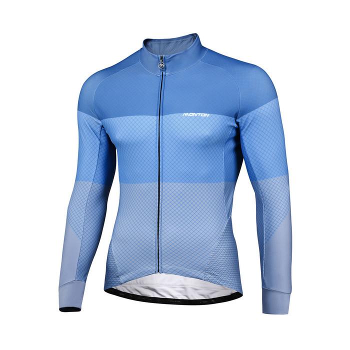 Men's 2018 Pro Step Thermal Jersey - light blue