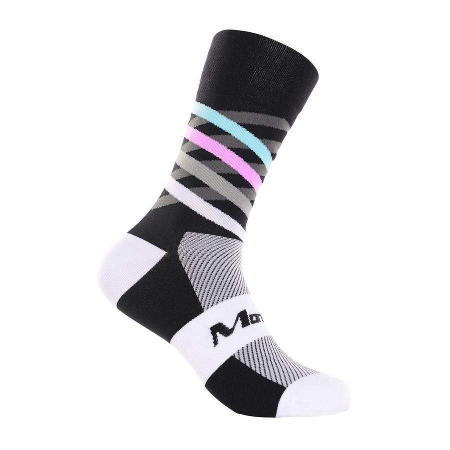 Dimensions black/white/multi Socks