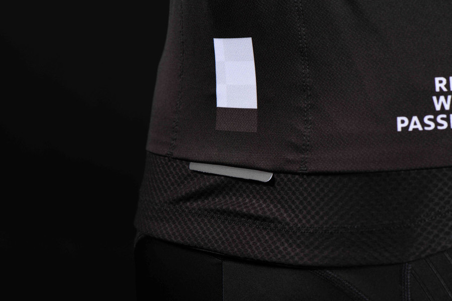 Men's 2018 Urban+ Mondrian black S/S Jersey