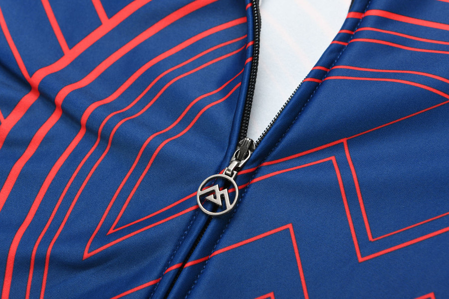 Men's 2018 Urban+ Calabria Thermal Jersey - red/blue