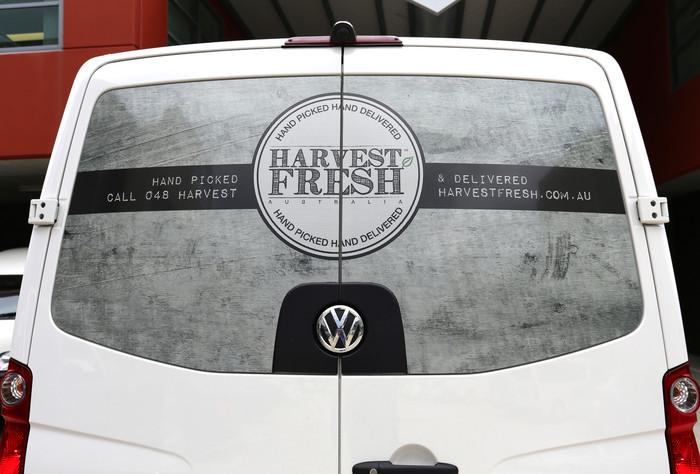 Van See Through Window