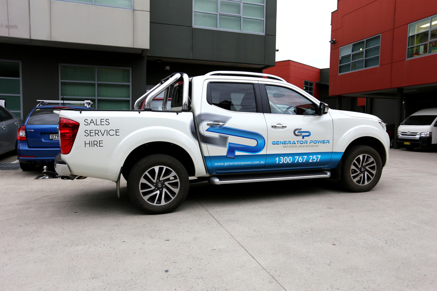 Nissan Ute Signs