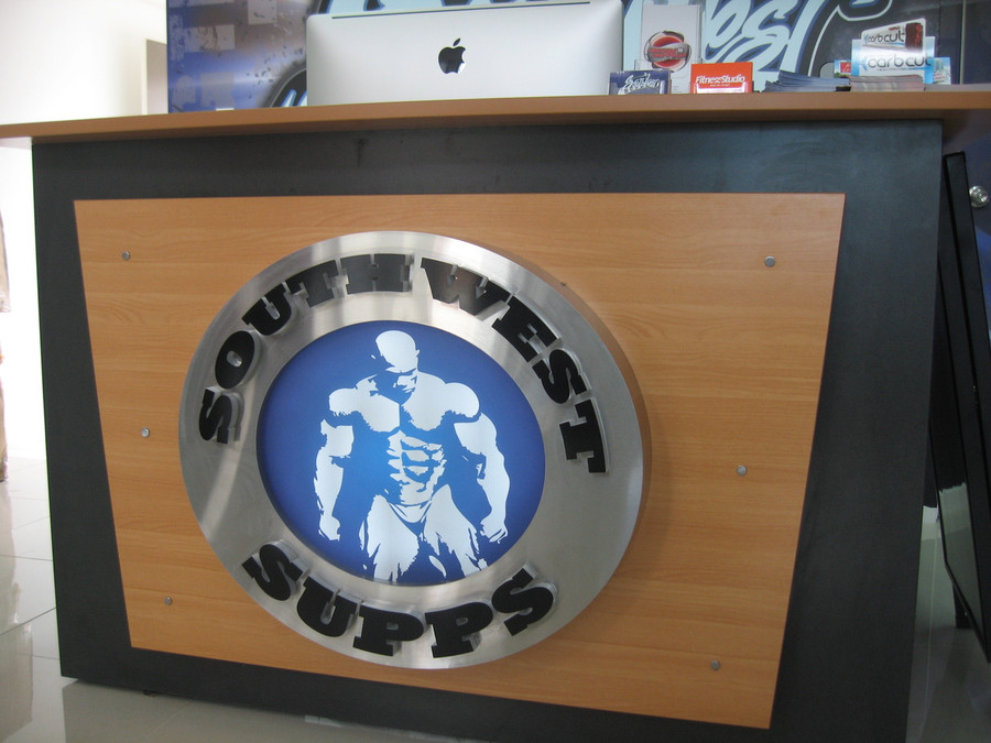 Stainless Steel Fabricated Sign