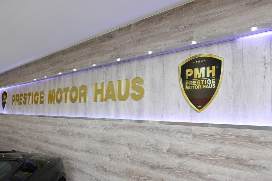 PMH Reception 3D Sign