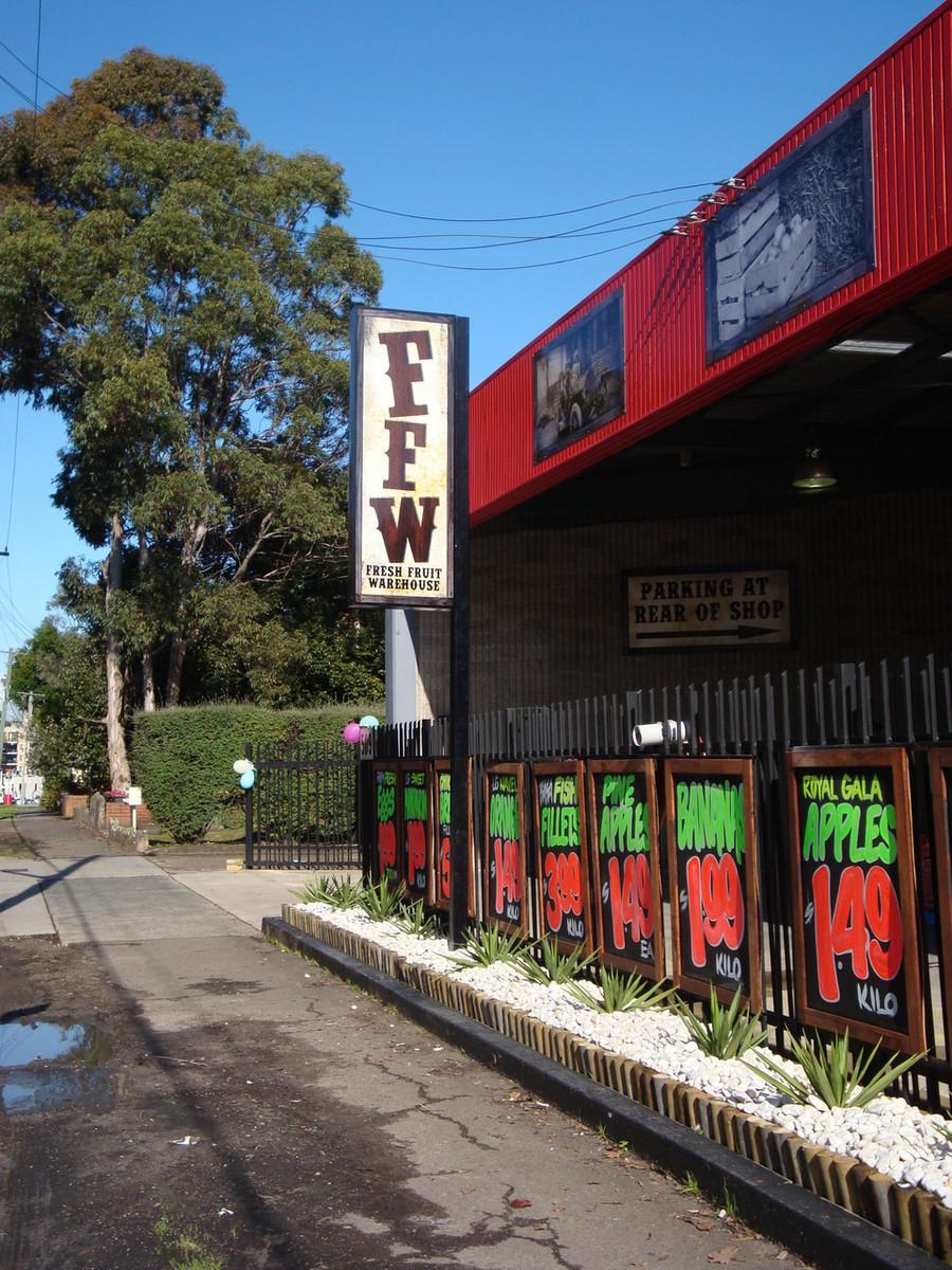 FFW Parramatta Sign Light Box