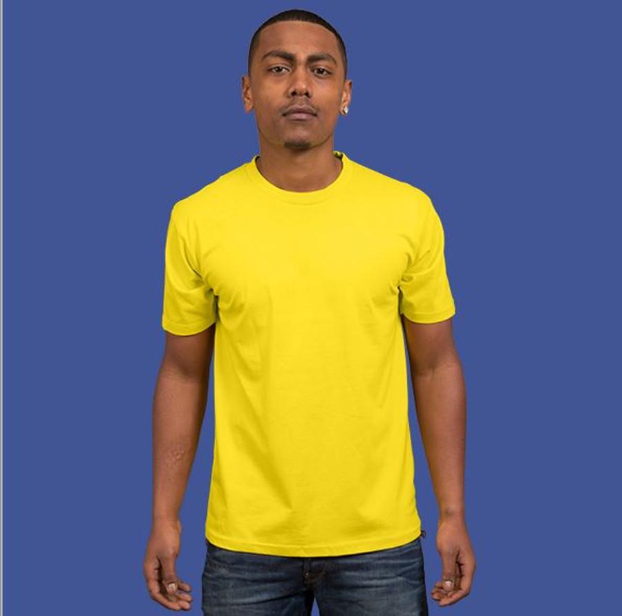 Mens Surf T-Shirt (Yellow)