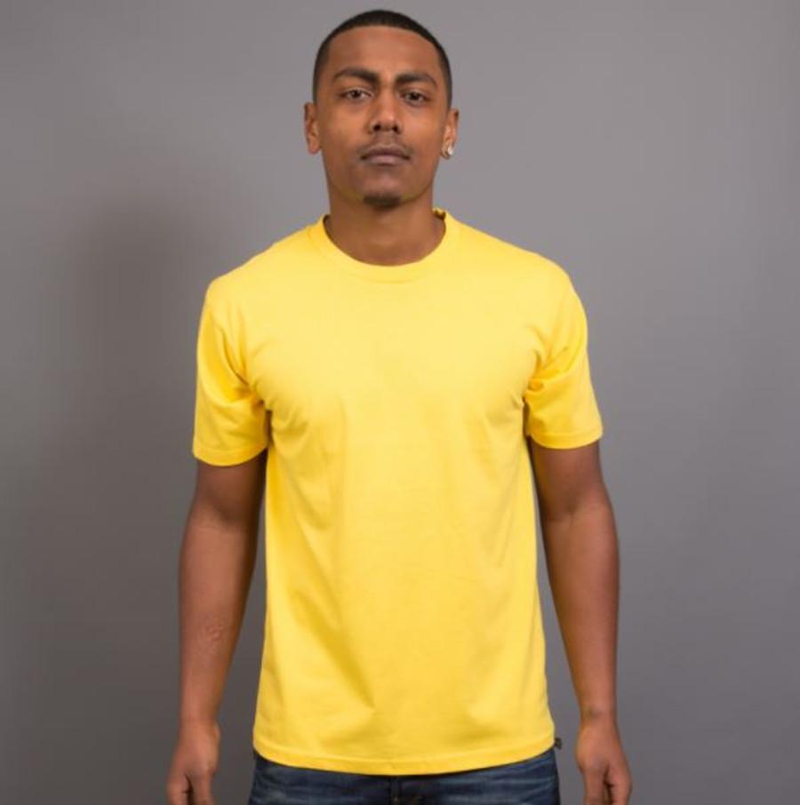 Mens Surf T-Shirt (Daisy Yellow)