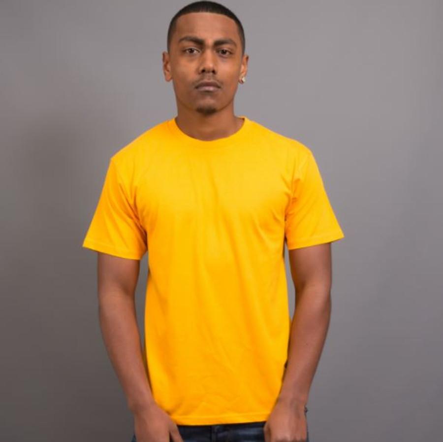 Mens Surf T-Shirt (Gold)