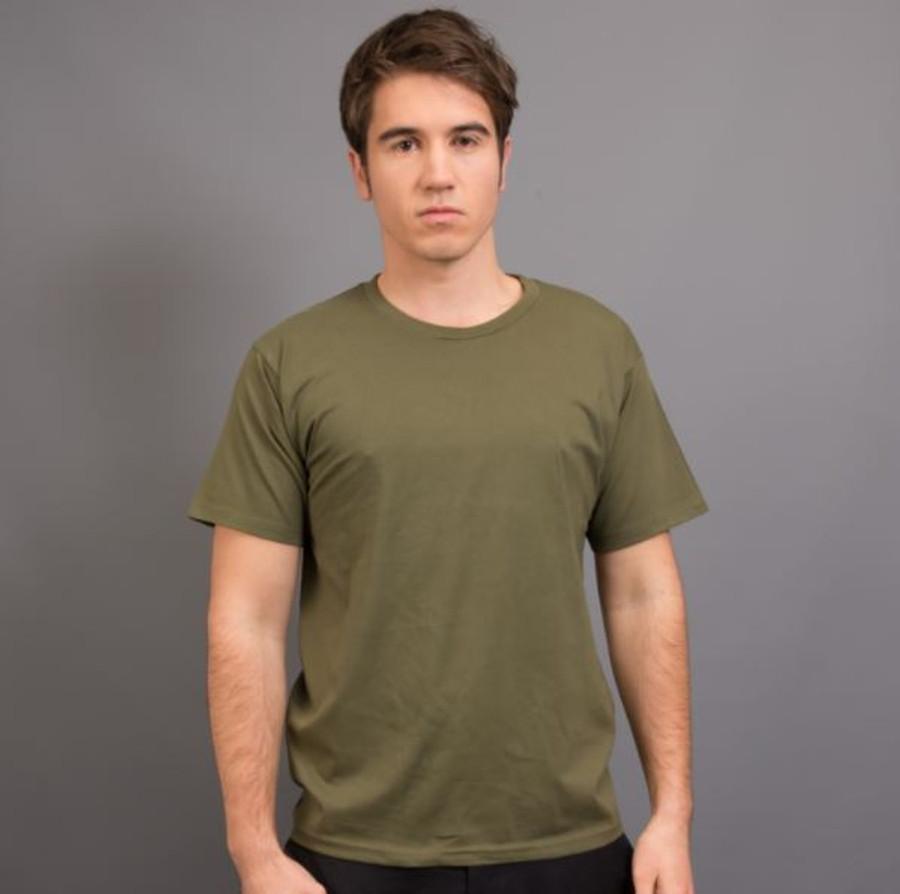 Mens Surf T-Shirt (Army Green)