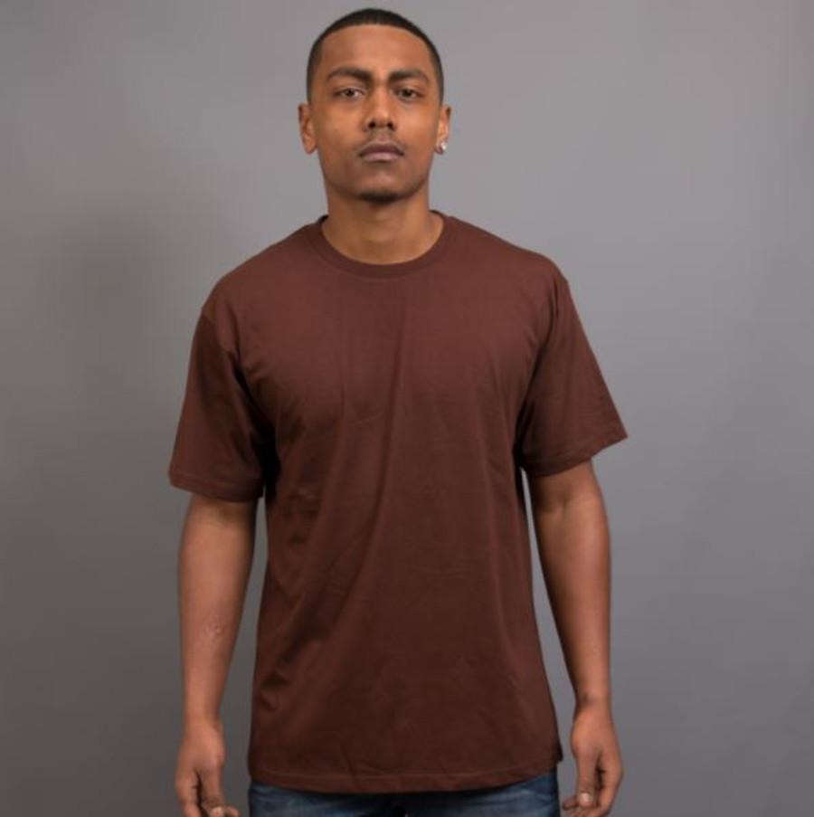 Mens Surf T-Shirt (Chocolate)