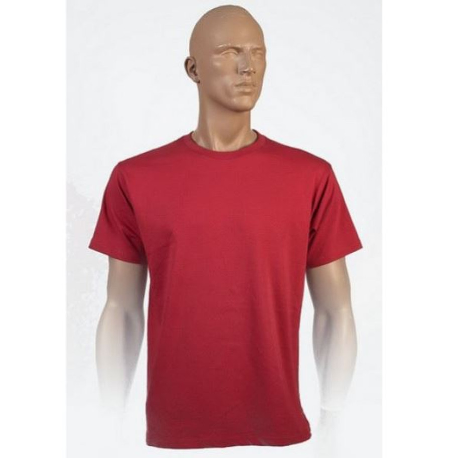 Mens Surf T-Shirt (Cherry)
