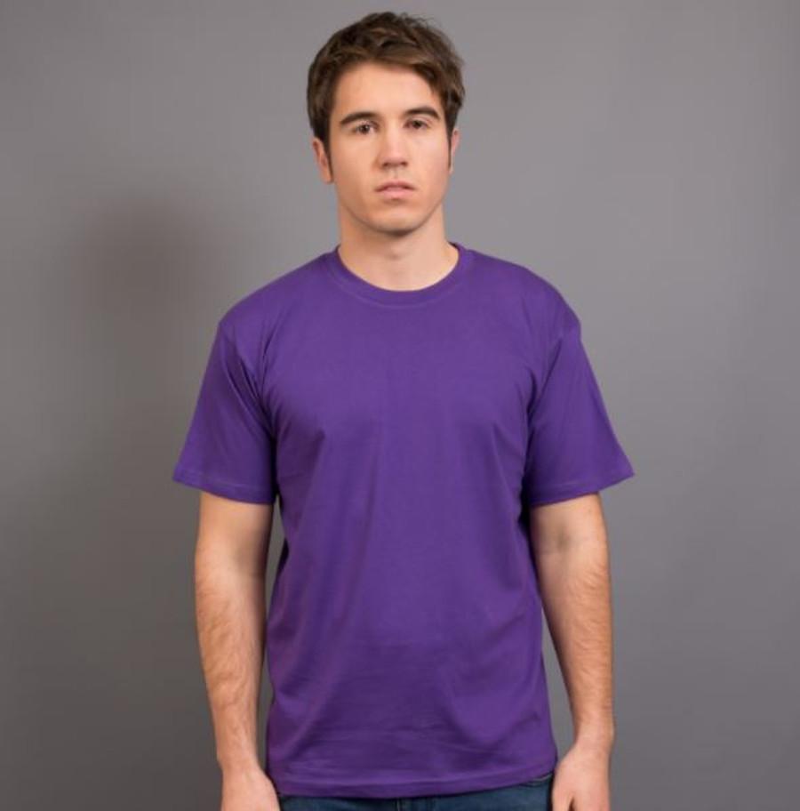 Mens Surf T-Shirt (Purple)