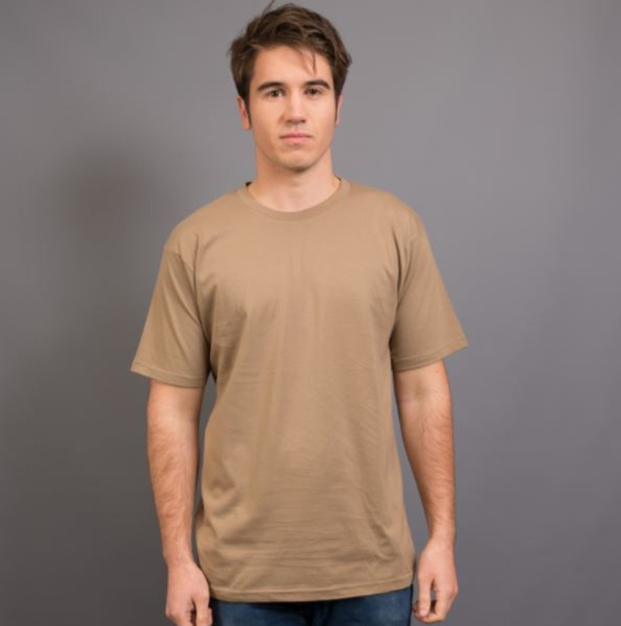 Mens Surf T-Shirt (Mocha)