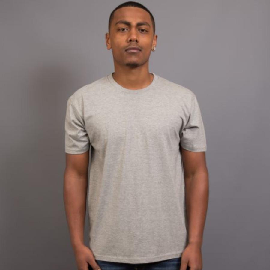 Mens Surf T-Shirt (Grey Marle)