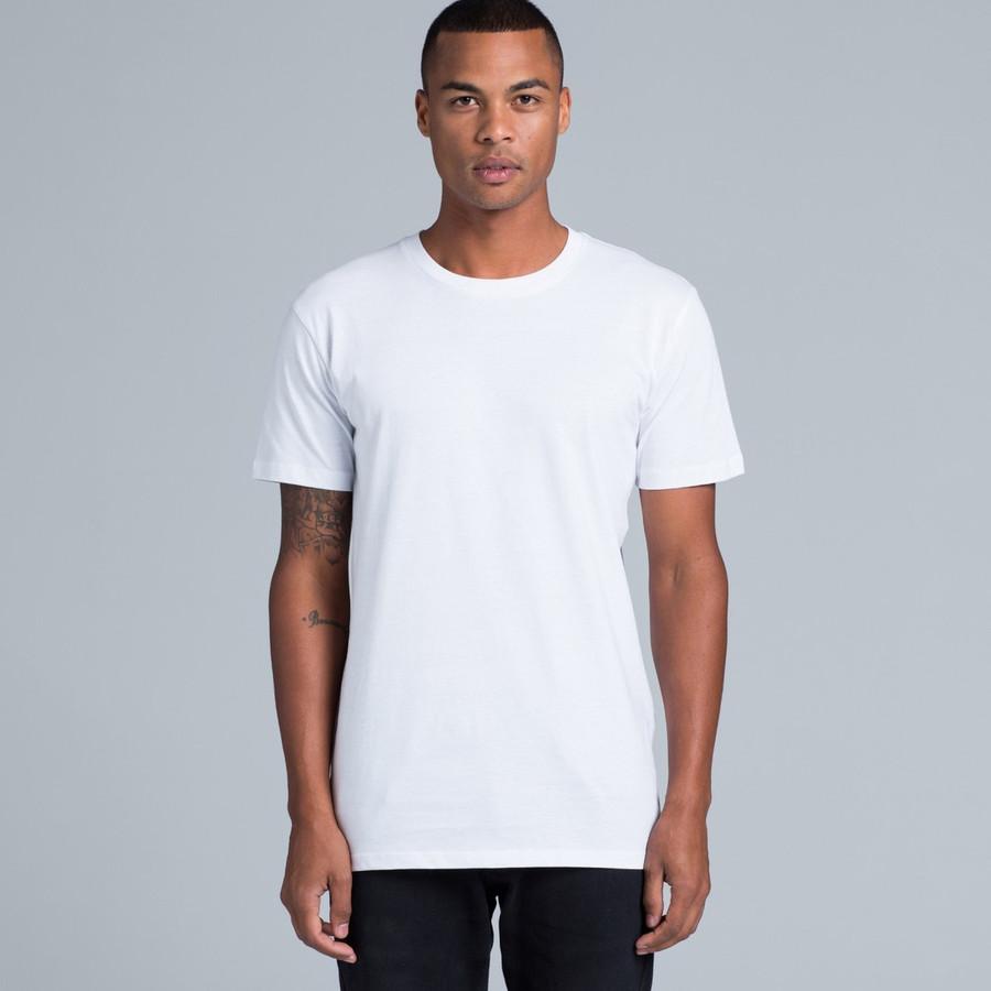 Mens Paper T-Shirt  (White)