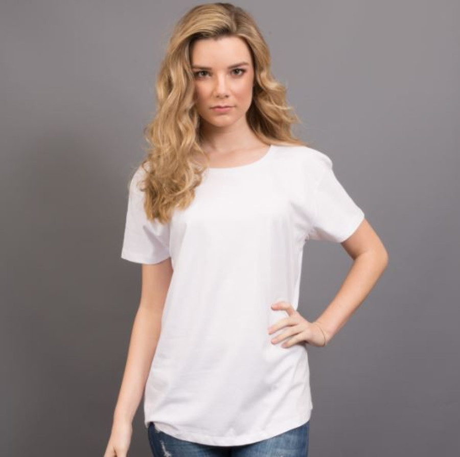Ladies Surf T-Shirt  (White)
