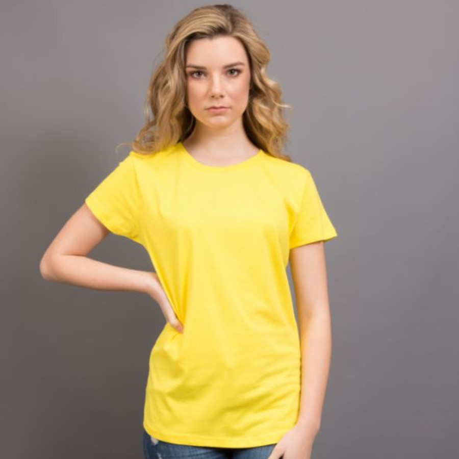 Ladies Surf T-Shirt  (Yellow)