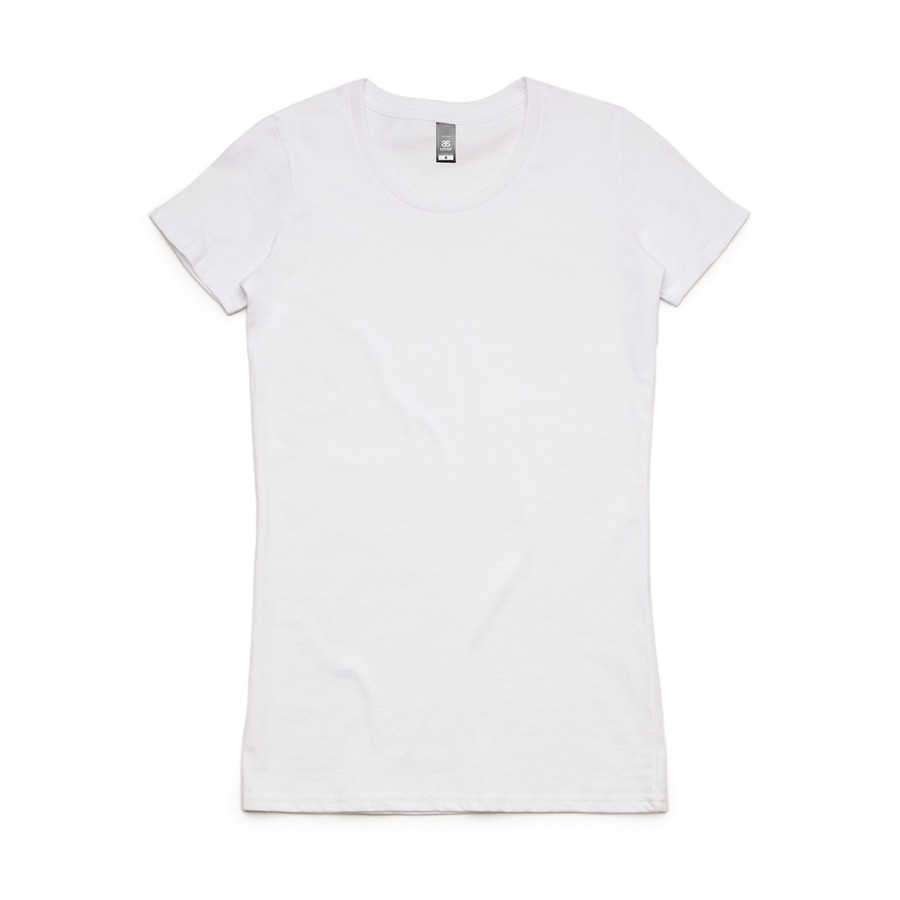 Ladies Wafer T-Shirt  (White)