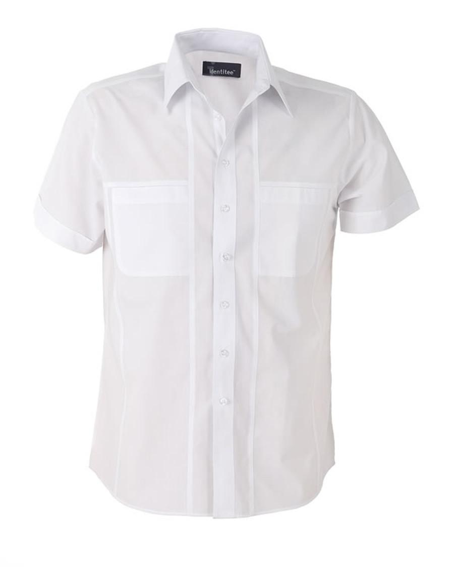 Mens Aston Business Shirt (White)