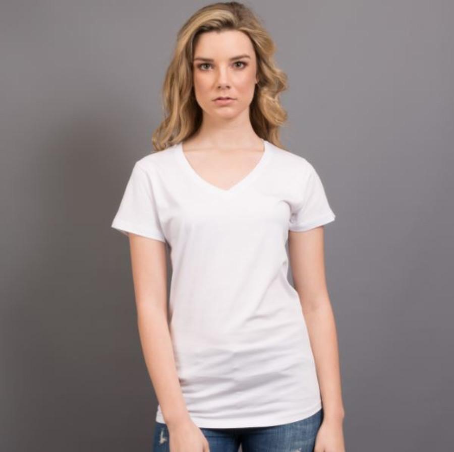Ladies Nauticus T-Shirt  (White)