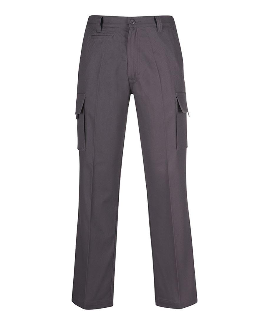 Mens Work Cargo Pants (Charcoal)