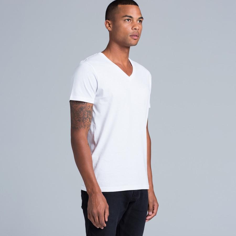 Tarmac V-Neck T-Shirt (White)