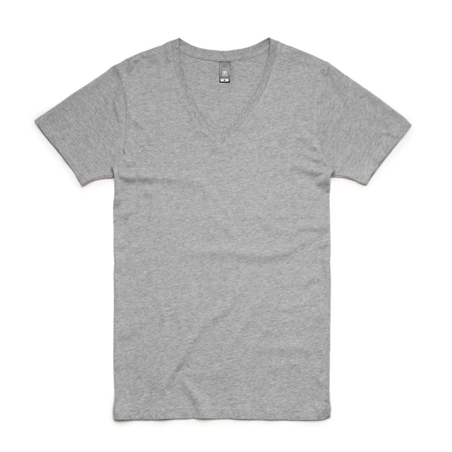 Tarmac V-Neck T-Shirt (Grey Marle)
