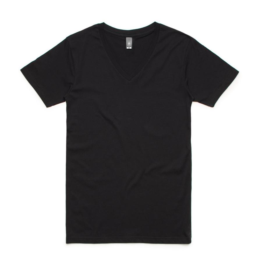 Tarmac V-Neck T-Shirt (Black)