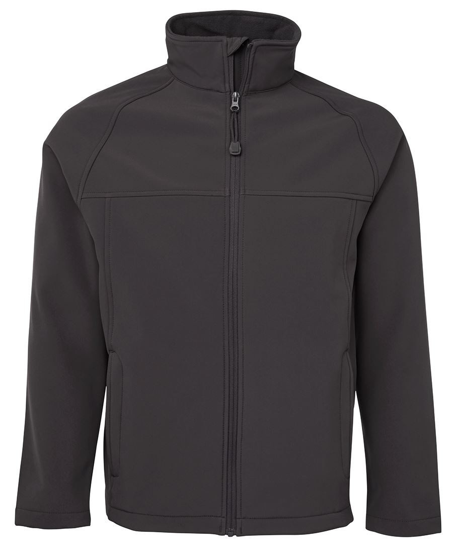Mens Layer Soft Shell Jacket (Charcoal)
