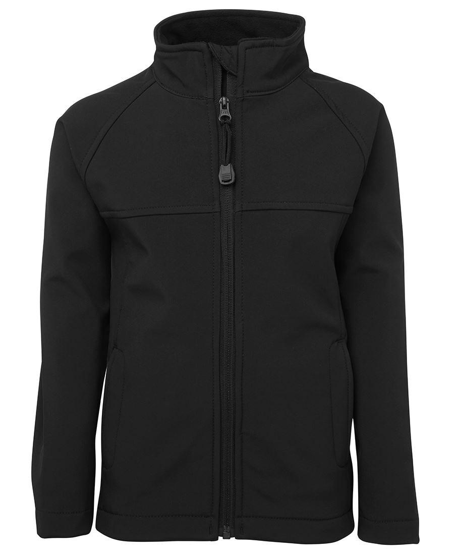 Mens Layer Soft Shell Jacket (Black)