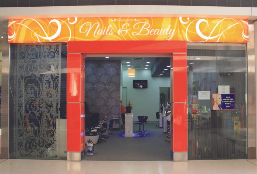 Nail & Beauty Shop Front Signage