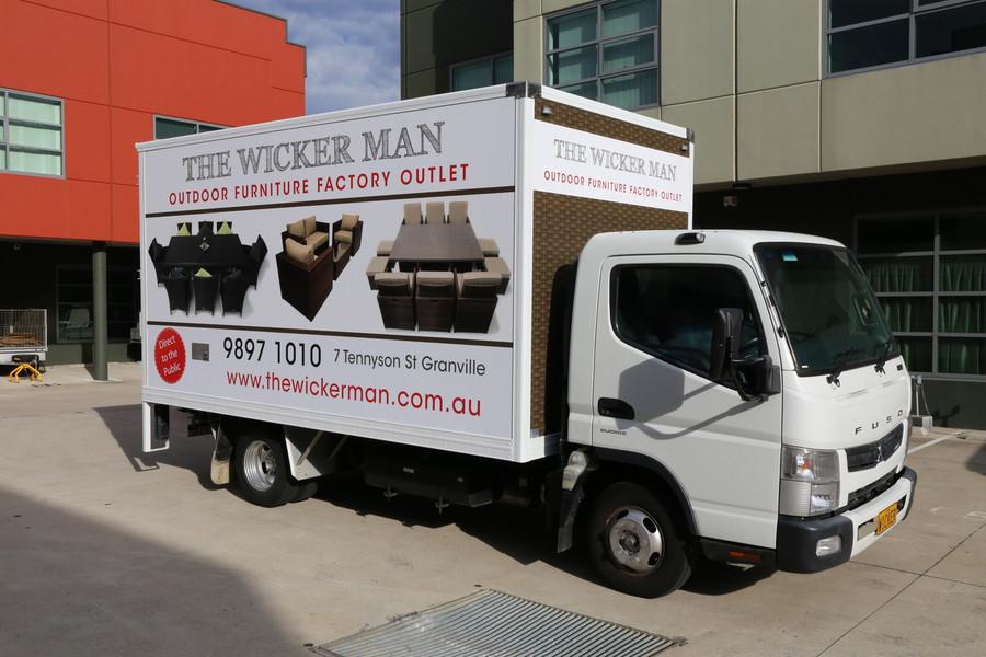 TWM Truck Signage