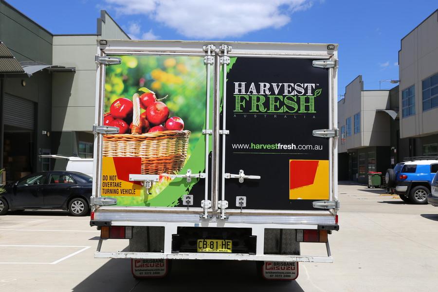 Harvest Fresh Truck Signage