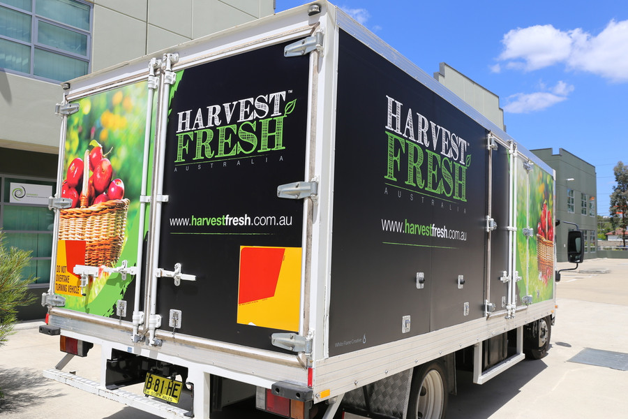 Harvest Fresh Pantec Signage