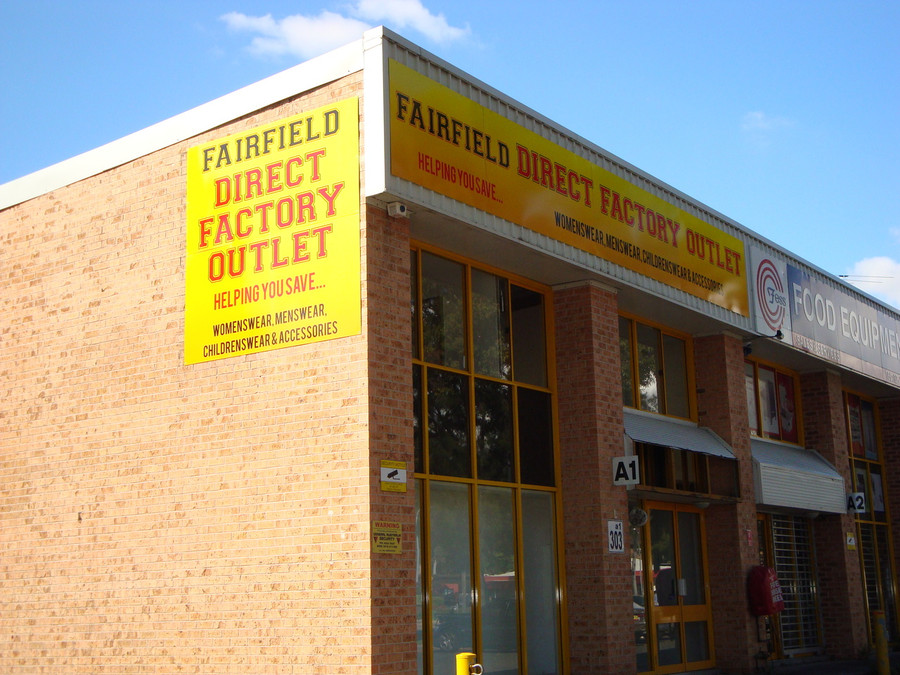 Fairfield SAVS Signage