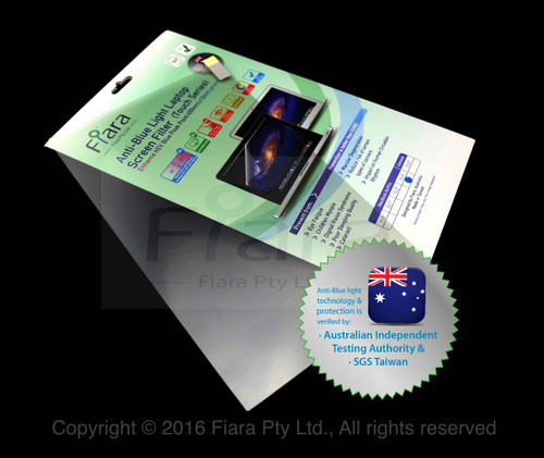 """Anti-Blue Light Screen Filter (BLP-PETAG Touch Series) : Fits to General Laptop 15.6"""" inch ( 16:9 - or screen size W345 x H195mm )"""