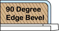 90 degree snowboard edge bevel