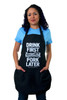 """Drink First Pork Later"" Apron"