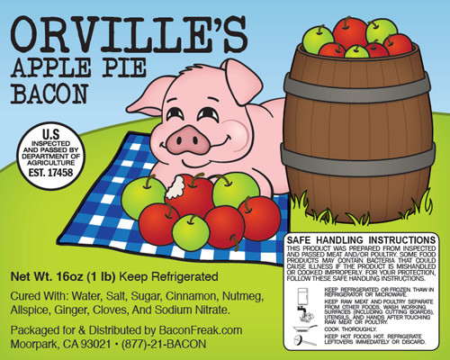 Orville's Apple Pie Bacon