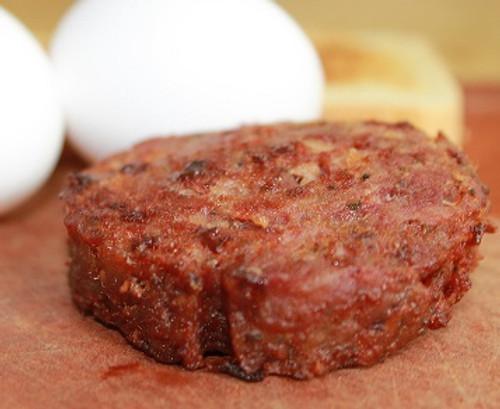Mountain Smokehouse Breakfast Sausage Patties with Bacon