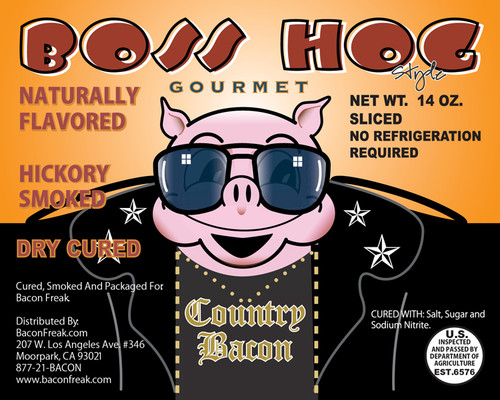 Boss Hog Hickory Smoked Bacon