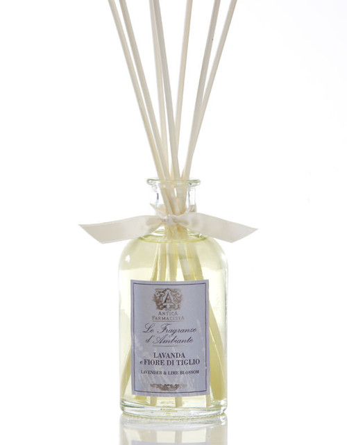 Antica Farmacista Lavender & Lime Blossom Home Ambience Reed Diffuser - 100 ml.