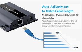 HDbitT HDMI Extender 1080p 120M (394ft) w/ IR