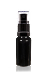 15 ml (15 ml)Ultraviolet Glass Bottle w/ Fine Mist Sprayer