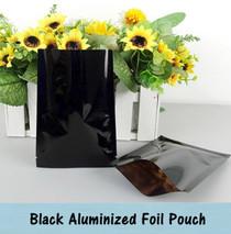 """Aluminum Foil Packaging Bag 3"""" x 4.5"""" Heat Seal Foil Vacuum Bag 3 Sides Sealed Storage Bag"""