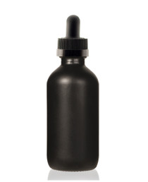4 Oz Volcanic Black w/ Black Child Proof Calibrated Dropper
